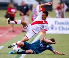 La rivalité s'est concrétisée le 1er juin 2016, lors de l'affrontement entre les deux clubs en US Open Cup. Photo : Chris Landsberger, The Oklahoman