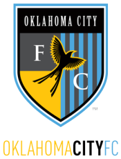 Le logo de l'Oklahoma City FC, ancêtre du Rayo OKC. Le club demeure actif avec une équipe féminine.